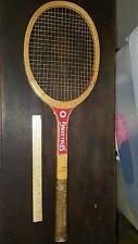 VINTAGE Spalding Wooden Tennis Racquet Tracy Austin Signature LOOK!