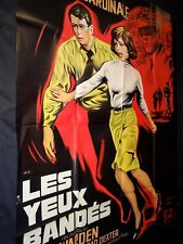 LES YEUX BANDES rock hudson claudia cardinale  affiche cinema 1965
