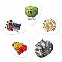 D'Addario Light Gauge Beatles Guitar Picks 10 Pack Meet the Beatles Fab Five