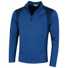 Calvin Klein Mens 2020 Micro Grid CK 1/2 Zip Mid Layer Pullover 45% OFF RRP
