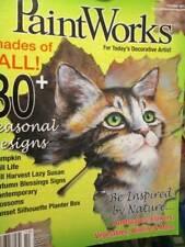 PaintWorks October 2012 Magazine-Cat/Witchville/African Masks & Ladies/Macaw/Pum