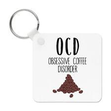 Coffee OCD Keyring Key Chain - Funny