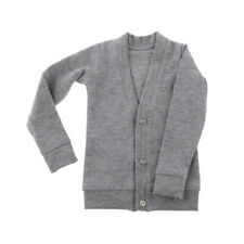 Gray Cardigan Top Sweater Coat Clothes for 1/3 Yo-SD DOD MSD  BJD Dolls