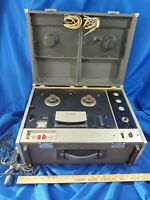 Sony TC-530 Stereo Reel-To-Reel Tape Tapecorder Japan Speakers 60s VTG Rare
