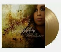 ALANIS MORISSETTE - FLAVORS OF ENTANGLEMENT - 1500 ONLY! NUMBERED GOLD VINYL LP