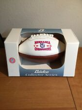 NEW~BADEN COLLECTOR SERIES MINI FOOTBALL~1996 NEBRASKA CORNHUSKERS ORANGE BOWL