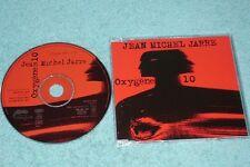 Jean Michel Jarre CD Oxygene 10 - 1-track promo CD - SAMPCS 4206
