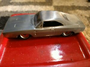 JADA 14026-W2 1:55 SCALE FAST & FURIOUS DIECAST DOM'S DODGE CHARGER BARE METAL!