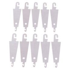 10x/set Stainless Steel Cross-Stitch Threading Hook Needle Threader Stitch YU