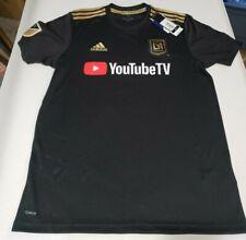 New Adidas LAFC Home Mens Sz Medium M 18/19 Los Angeles FC YouTube Soccer Jersey