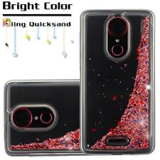 ROSE GOLD Quicksand COVER + CLEAR FILM FOR COOLPAD TMobile Revvl Plus