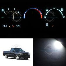 Full Set AC Heating White LED Bulbs for 1999-2002 Chevrolet Silverado 1500 & HD