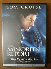 Minority Report (Dvd, 2002) Tom Cruise Colin Farrell Max Von Sydow