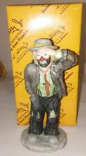 Emmett Kelly Jr Miniature by Flambro - Looking Out To See - Box
