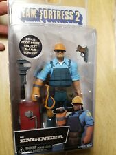 "Neca Team Fortress 2 Serie 3.5 THE ENGINEER (BLU) 7"" Action Figure blue NEW 3"