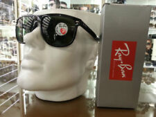 Occhiali da sole da donna con lenti in nero Ray-Ban e mantatura in plastica