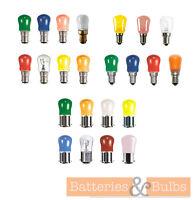 15w SES SBC BC Colour Pygmy Light Bulb Sign Lamp 240v | x2, x5 or x10