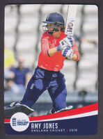 Tap N Play - England Cricket 2018 - Base # 52 Amy Jones - Warwickshire