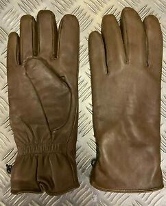 Genuine British Military Brown Leather Combat Gloves MK2 MVP - All Sizes