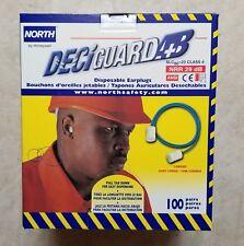 North DeciGuard AB Corded Disposable Earplugs Z280250