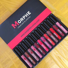12 Colors Waterproof Long Lasting Lipstick Set Matte Lip Gloss Makeup Cosmetics