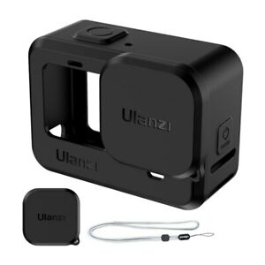 GoPro Hero 9 Protective Sleeve Case with Wrist Strap and Lens Cap -  Ulanzi G9-1