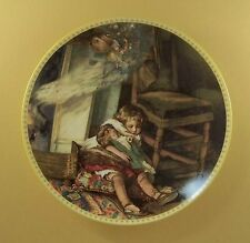 Memories of a Victorian Childhood SWEET SLUMBER Plate #2 Doll Fairy + COA