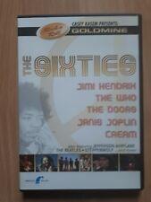 DVD Musik Film the Sixties Rock n Roll Jimi Hendrix the Who The Doors Beatles