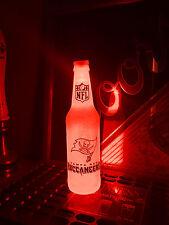 NFL Tampa Bay Buccaneers Football 12 oz Beer Bottle Light LED Neon sign tickets