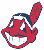 Cleveland Indians Mascot Chief Wahoo Vinyl Decal Sticker - You Pick the Size