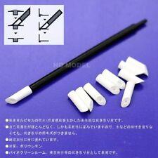 Gunpla Model Kit Tool  Hobby Gundam Marker Remover Pen Eraser + 10 refill