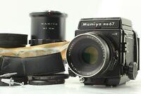 【Near MINT】 Mamiya RB67 PRO S w/ Sekor C 127mm F/3.8 + 120 Film Back from JAPAN