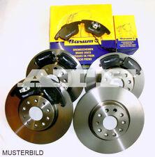 BARUM Bremsen Bremsscheiben Bremsbeläge VW Passat 3C5 1,6L 1,9TDI 2,0TDI SET KIT