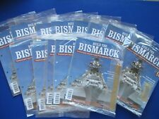 Hachette -  Build The Bismarck  ( Unopened/Unused )  Choose which issue you need