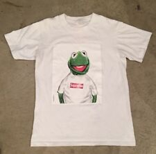Supreme Kermit T Shirt White Medium Pre Owned
