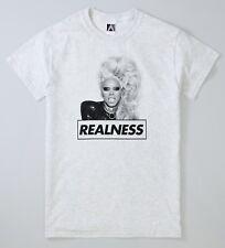 RuPaul Realness T-shirt Drag Race Gay LGBT Pride Queens Sashay Slogan Tee