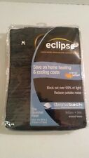 1 Eclipse 84-Inch Bellano Energy-Efficient Blackout Grommet Window Panels