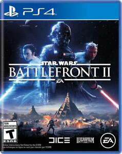 Star Wars Battlefront 2 II - Sony PlayStation 4 PS4 [EA Disney LucasFilms] NEW