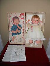 "Tiny Thumbelina Doll OTT-14"" Ideal All Original Works MIB"
