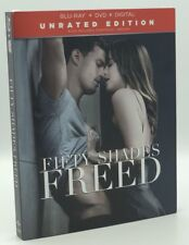 Fifty Shades Freed (Blu-ray+DVD+Digital, 2018; Unrated Ed.) NEW w/ Slipcover