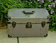Graflex Original 4 x 5 Camera Grey Protective Storage Carry Case w/Section Card