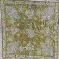 museum quality hand embroidered ottoman textile with Sultan abdulhamid tughra