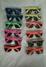 Lot of 12 colorful Vintage McDonald's Sunglasses. NOS.