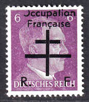 GERMANY 510 OCCUPATION FRANÇAISE OVERPRINT OG NH U/M VF BEAUTIFUL GUM