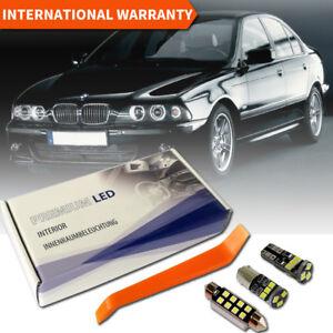 BMW E39 E38 Premium LED Interior Full Set Premium White Error Free Canbus