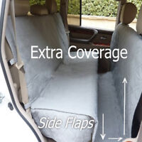 Pet Dog Car Truck Van Seat Cover Quitlted Padded Non-slip Back Seat Extra Large