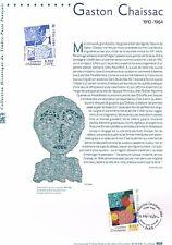 Document Officiel   2000 19   Gaston Chaissac  Yv N° 3350