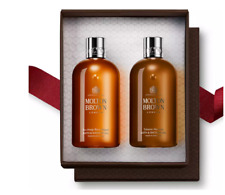 Molton Brown Recharge Black Pepper and Tobacco Absolute Shower Gel Gift Set