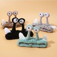Creative Face Wash Hair Band Cute Cartoon Snail Headband Cute Funny Hair Hoop