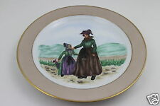 Danimarca B&G BING GRONDAHL c1941 grande piatto dipinto a mano diametro 24 cm MOLTO RARA